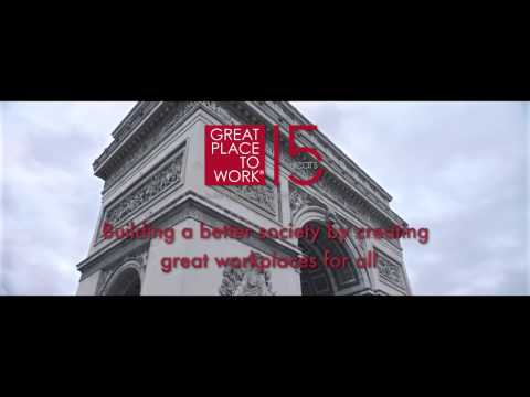 Great Place to Work®:  European Conference & Awards - Paris 2017