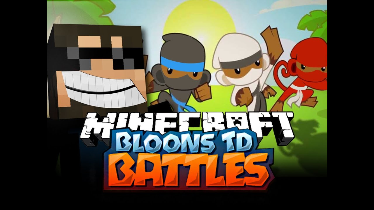 Minecraft Bloons TD Battle   ZEUS TOWERS ARE INSANE - YouTube