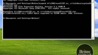 How to Restore, Fix, Replace Rundll32.exe for Windows XP by Britec