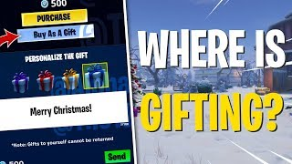 What Happened to Gifting in Fortnite?