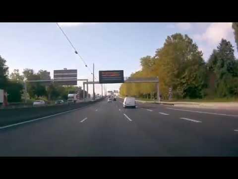 France: D383, boulevard périphérique Lyon