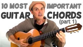 10 Most Important Guitar Chords for Beginners - Part 1