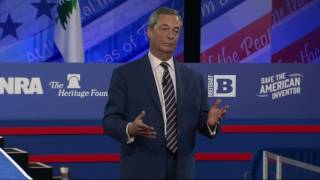 Farage: 2016 Began 'Global Political Revolution'