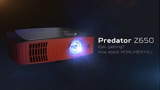 Обзор проектора Acer Predator Z650