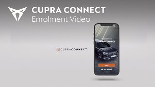 How to enrol to CUPRA CONNECT | CUPRA
