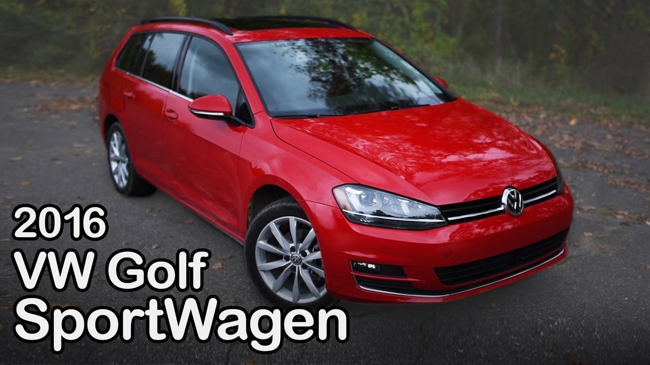 2016 Volkswagen Golf Sportwagen Review Curbed With Craig Cole