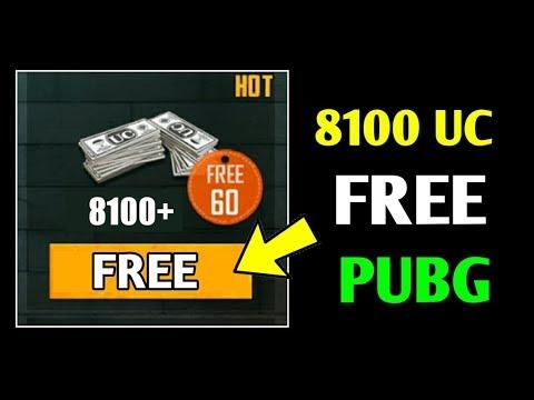PUBG ME UC KAISE LE FREE ME | 8100 UC PUBG | PUBG UC TRICK | PUBG FREE UC TRICK