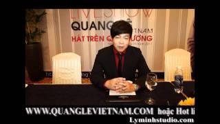 Video | Quang Lê quảng bá cho Liveshow Hát Trên Quê Hương 1 | Quang Le quang ba cho Liveshow Hat Tren Que Huong 1