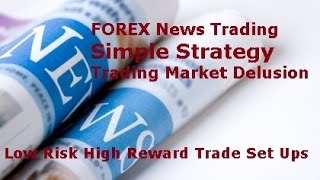Forex Trading News Strategy - Simple Strategy that Works