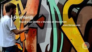 Grafiter@ | Registra tus Grafitis y Murales en Blockchain | www.Solvaip.com