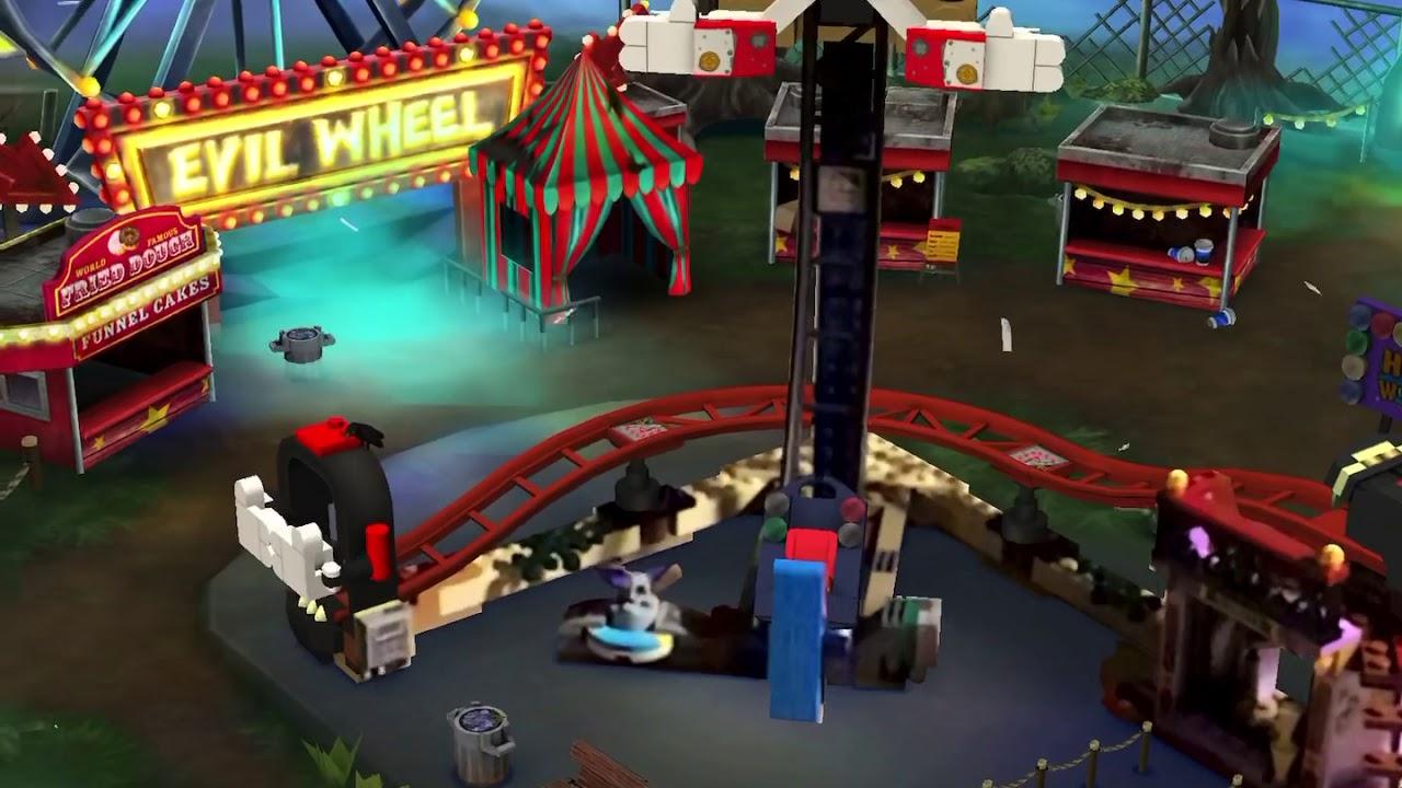 lego hidden side nawiedzony lunapark tragico boss