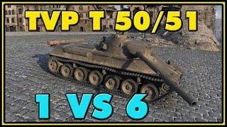 World of Tanks | TVP T 50/51 - 8 Kills - 8.2K Damage