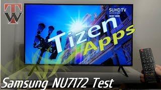 tizen Test - Samsung NU7172 Smart TV