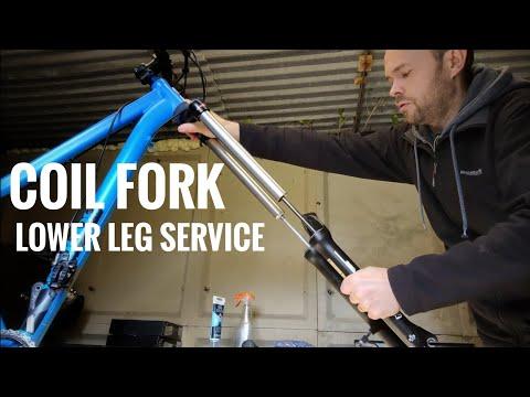 Suntour Coil Fork - Lower Leg Service