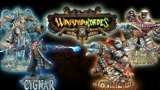 Warmachine & Hordes - Cygnar vs Trollbloods & Convergence of Cyriss vs Menoth - 50pt Battle Reports