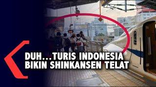 Viral Turis Indonesia Bikin Shinkansen Telat 10 Menit, Gara-Gara Ini!