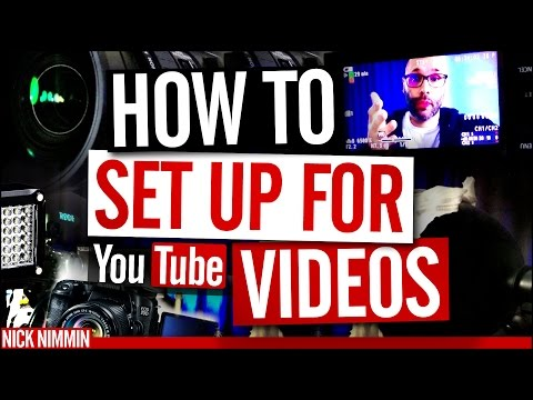 YouTube Video Recording Setup