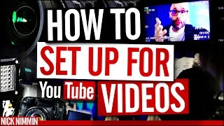 YouTube Video Recording Setup(Your YouTube video recording setup can make or break how your videos turn out. If you're going to be making YouTube videos then you need to know how to ..., 2016-07-08T15:02:31.000Z)