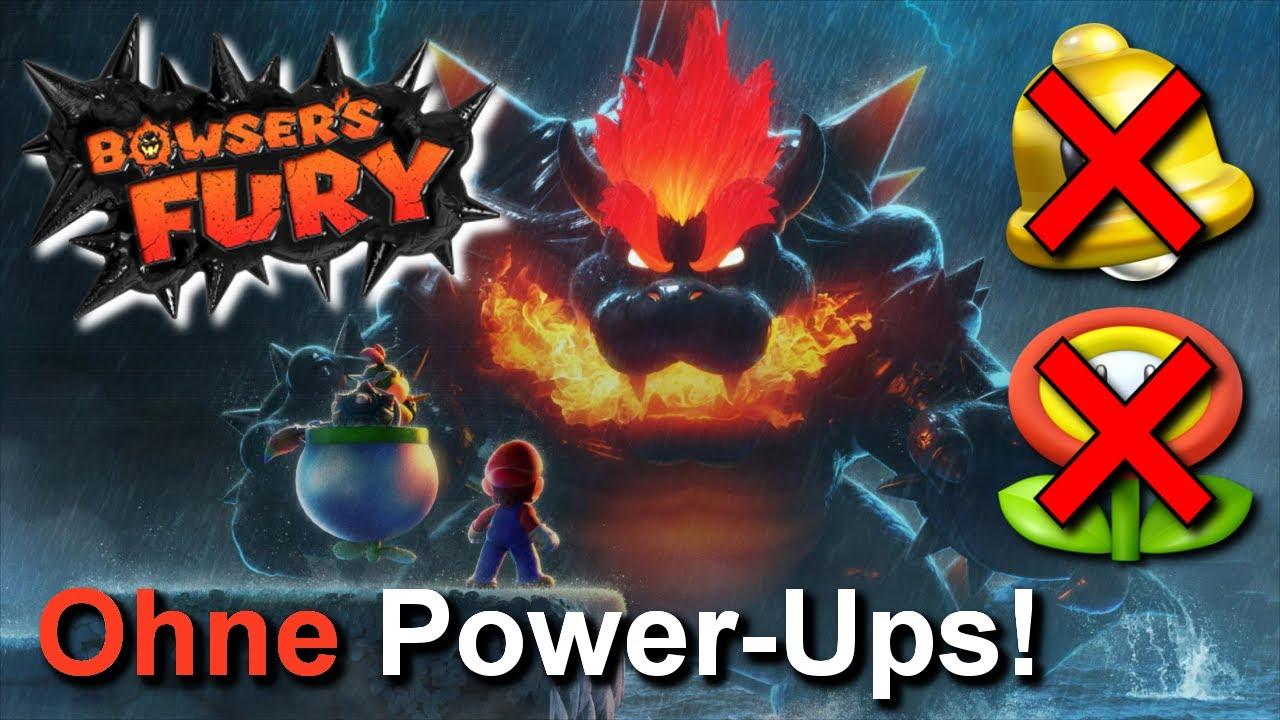 Kann man BOWSER'S FURY ohne Power-Ups durchspielen?