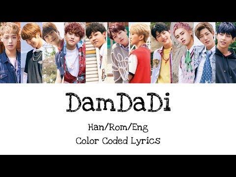 Golden Child - Damdadi Color Coded Lyrics