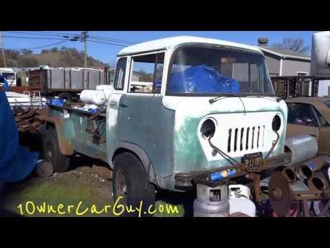 1959 Jeep FC-170 Forward Control 4x4 Truck FC-180 160 190 230 Tornado 6 Overhead Cam - 동영상