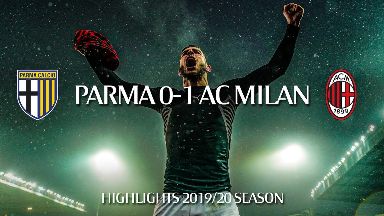 Download Highlights | Parma 0-1 AC Milan | Matchday 14 Serie A TIM 2019/20