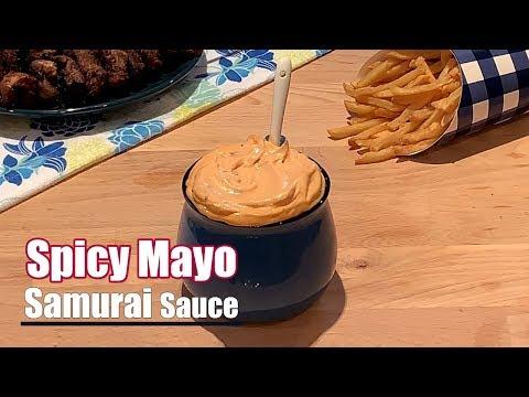 homemade-spicy-mayonnaise---samurai-sauce-recipe