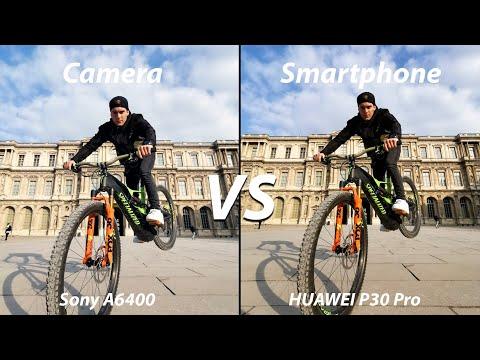 Huawei P30 Pro VS Sony A6400 Professional Mirrorless Camera !