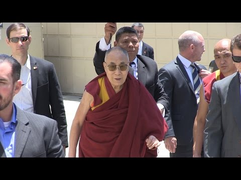 His Holiness arrived in Orange County, CA June 16 2016