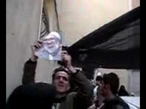 Basij Attack Ayattollah Montazeri's House