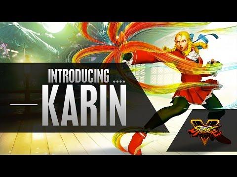 SFV: Character Introduction Series - Karin
