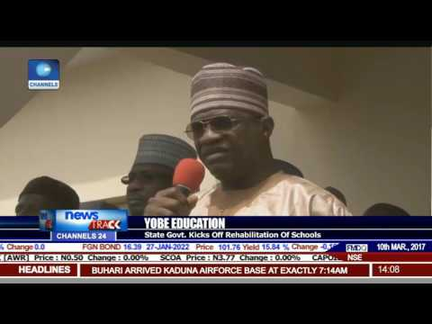 Yobe Education: State Govt Kicks Off Rehabilitation Of Schools