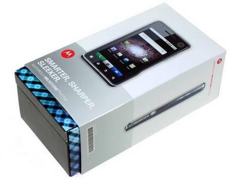Motorola Milestone XT720 Unboxing