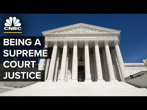What It's Like Being A Supreme Court Justice