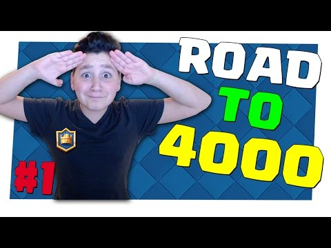 ROAD TO 4000 COPPE | BATTAGLIE IN LIVE SU CLASH ROYALE!! [kazuosan]