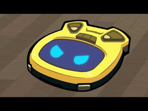 Убейте грабителей, играя за роботизированный пылесос, в Roombo: First Blood