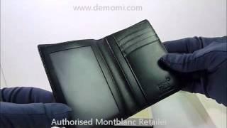 MB 2664 montblanc wallet  meisterstuck portafoglio review mont blanc