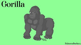 Speed Art - Gorilla
