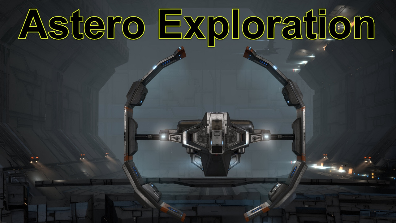 hight resolution of astero exploration making the isk presented in 4k eve online live