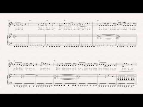 Horn  Again  YUI   Sheet Music, Chords, & Vocals