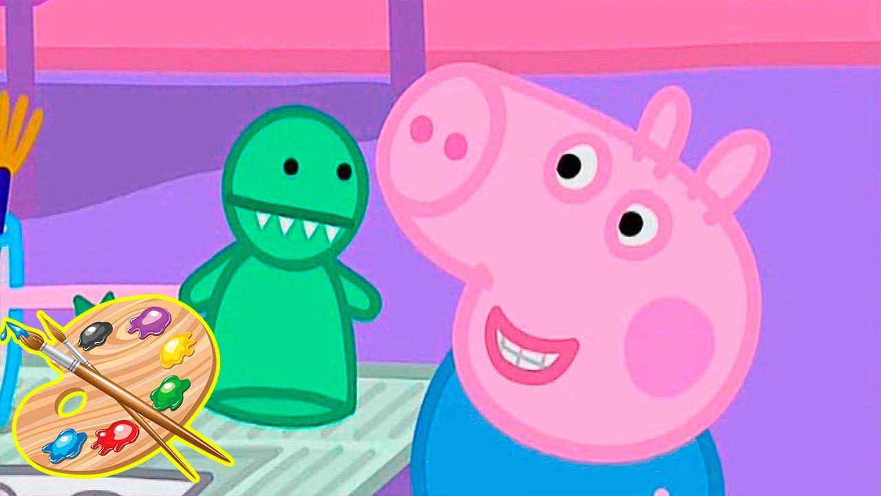 Impariamo insieme a colorare disegni di peppa pig il for Pesciolini da colorare per bambini