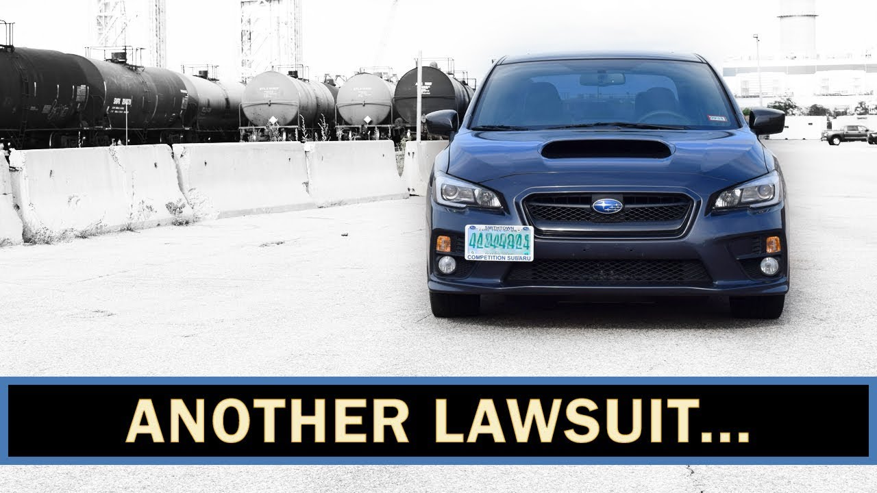 Subaru WRX, STI, & Forester XT Lawsuit! ANOTHER ONE! | WRX VLOG #50