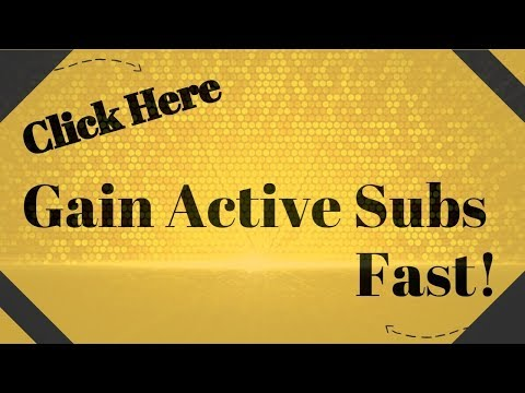 Gain Active Subs Fast | Get Subscribers 24/7 | Auto Sub Board | Get On The Wall