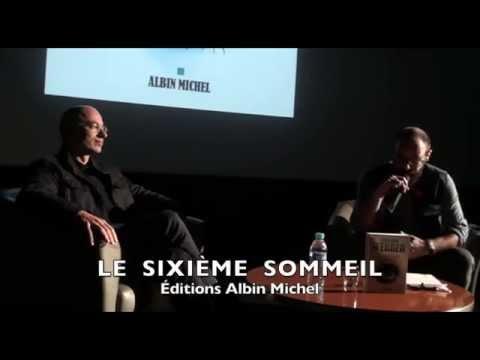 """Bernard WERBER. Part 1. Son dernier roman """" Le Sixième Sommeil"""" - 30/09/2015. Paris La Défense"""