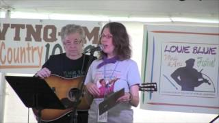 Maggie Longmire introduced at Louie Bluie Music & Arts Festival 2015
