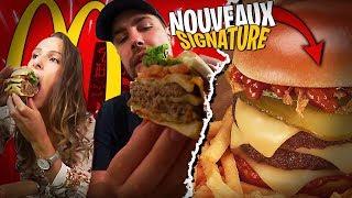 Catastrophique les deux nouveaux Burgers Signature de chez Mcdonald's...