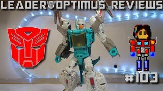 (FR) Deluxe BRAINSTORM review (Transformers Titans Return)