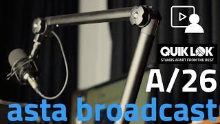 Video: Asta Microfonica QuikLok A26