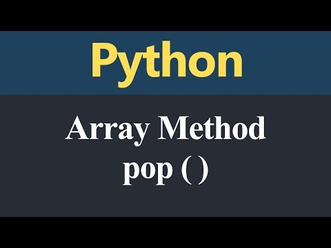 pop Method in Python (Hindi) thumbnail