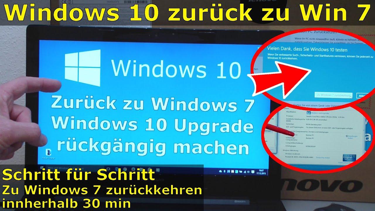 Windows 10 Update Zurücksetzen